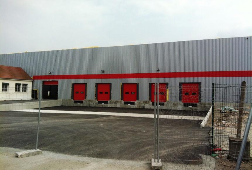 TRANSPORT CAILLOT - Bâtiment de stockage à ST YORRE 03