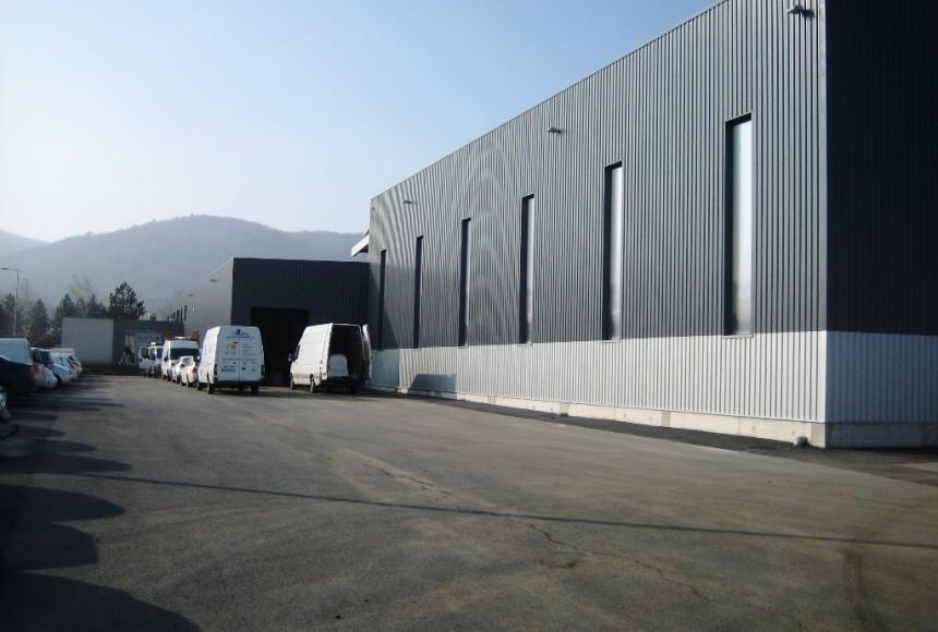 PGDIS Extension d'un bâtiment logisitque à Volvic 63