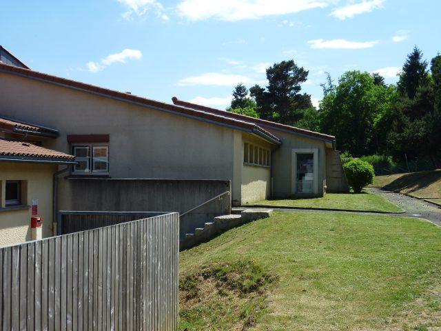 """Travaux d'extension du groupe scolaire """"Les Volcans """" à Saint Genès Champanelle"""