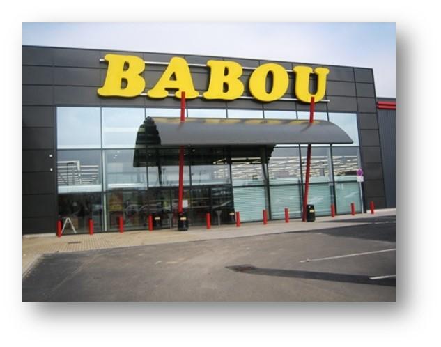 BABOU Aménagement magasin à Bruay La Bussiere (62)